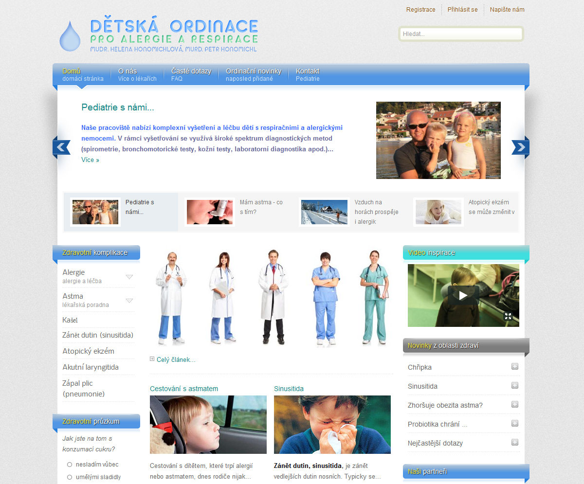 Reference Webdesign-detska ordinace