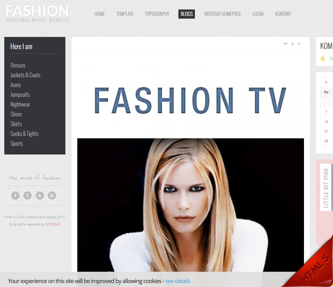 Reference webdesign-Fashion01